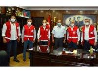Kızılay yönetimi, Demirtaş, Başol ve ilçe müftüsüyle istişarede bulundu
