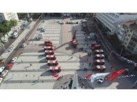 Manisa'da itfaiye filosuna 10 yeni araç