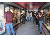 """""""Çanakkale Savaşları Mobil Müzesi"""" kapılarını Ağrılılara açtı"""