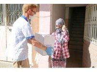 Buca Belediyesinden BM işbirliğiyle mültecilere yardım eli