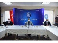 Kent konseyi uzun bir aradan sonra ilk toplantısını gerçekleştirdi