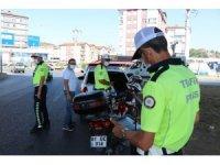 Gürültü yapan motosiklet ve araçlara ceza yağdı