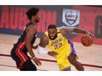 NBA finalinde ilk adım Los Angeles Lakers'tan