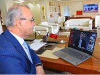Başkan Kayda, Bakan Varank ile telekonferans toplantısına katıldı
