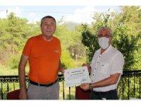 Orman Bölge Müdürü Yılmaz'dan helikopter ekibine teşekkür