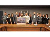 TAF Başkanı Fatih Çintimar'dan Beşiktaş'a ziyaret