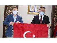 Başkan Musa Aydın'dan, Siirt Valisi Hacıbektaşoğlu'na ziyaret
