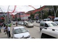 Tokat'ta araç sayısı 184 bin 514'e ulaştı