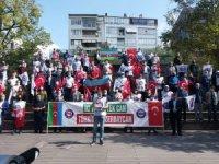 Eskişehir halkından kardeş ülke Azerbaycan'a destek