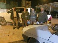 Konya'da far avı yapan 3 avcıya 5 bin 634 lira ceza
