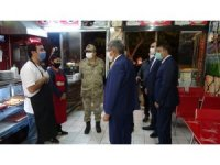 Van Valisi Bilmez'in katılımıyla korona virüs denetimleri sürüyor