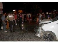 Fethiye'de hafif ticari araçla çarpışan ambulans devrildi: 6 yaralı