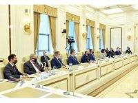 TBMM Başkanı Mustafa Şentop, Azerbaycan Milli Meclis Başkanı Sahiba Gafarova ile görüştü