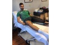 """Bursasporlu futbolcu Ataberk Dadakdeniz: """"Çok daha güçlü döneceğim"""""""