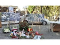 Gürcistan'da Gence'ye düzenlenen saldırıda hayatını kaybeden siviller anıldı