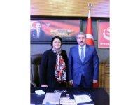 """Dostluk Eşitlik Barış Partisi Onursal Başkanı Ahmet: """"Siz bize cennet mekân Muhsin Yazıcıoğlu'nun emanetisiniz"""""""