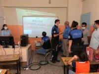 Kızıltepe polisi öğrenciler için EBA destek sınıfı kurdu
