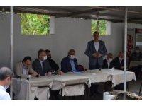 AK Parti heyeti Gökçeler köyünde