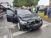 Yağmur zincirleme kazaya yol açtı: 1 yaralı