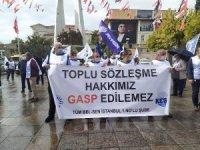 Bakırköy Belediyesi'nde toplu sözleşme eylemleri sürüyor