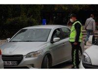 Keşan'da toplu taşıma araçlarına denetimler devam ediyor
