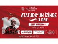 Büyükşehir'den Atatürk konulu ödüllü şiir yarışması