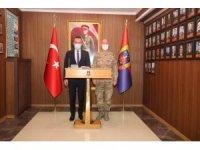 Ağrı Milli Eğitim Müdürü Tekin'den İl Jandarma Komutanı Çimen'e hayırlı olsun ziyareti