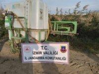 Çalınan tarım aletleri çiftçilere teslim edildi
