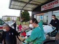 İki grup arasında çatışma çıktı, balkona çıkan vatandaş kafasından vuruldu