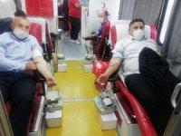 Akıncılar'da 58 ünite kan toplandı