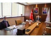 Milletvekili Çelebi, Bakan Kasapoğlu'nu ziyaret etti, Ağrı'ya yatırım istedi