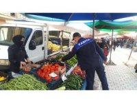 Emet pazarında Korona virüs ve fiyat denetimi