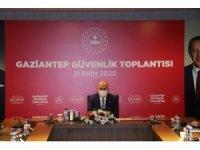 Bakan Soylu Gaziantep'te güvenlik toplantısına katıldı