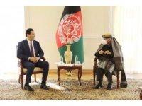 Özbekistan Başbakan Yardımcısı Umurzakov, Afganistan Cumhurbaşkanı Gani ile görüştü