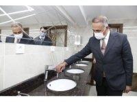 Sultangazi'de cami abdesthaneleri yenileniyor