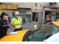 Aydın'da taksi ve toplu taşıma araçlarında hijyen denetimi