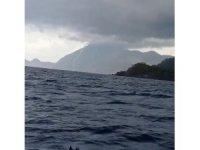 Antalya'da denizde hortum