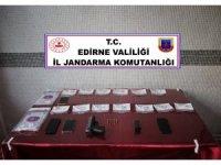 Edirne'de uyuşturucu operasyonu