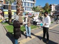 BBP Kdz. Ereğli'de vatandaşlara 7 bin adet maske dağıttı