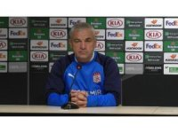 """Çalımbay: """"Amacımız Villarreal maçından puan ya da puanlar almak"""""""