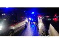Antalya'da personel servisi kaza yaptı: 8 yaralı
