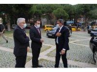 Vali Şıldak Burhaniye ziyaretinde Başkan Deveciler'i ziyaret etti