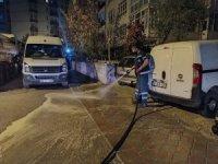 Keçiören'in tüm sokakları haftada bir kez yıkanıyor