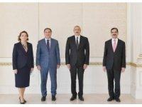 Başdenetçi Malkoç, Azerbaycan Cumhurbaşkanı Aliyev'le görüştü