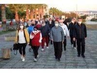 Başkan Deveci kent sakinleriyle birlikte sağlık için 10 bin adım attı