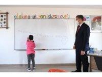 Bakan Selçuk mezun olduğu köy okulunda öğretmenlere seslendi
