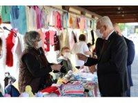 Başkan Gürün'den pazarda Korona virüs denetimi