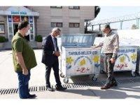 Tarsus Belediyesi, bin adet çöp konteyneri aldı