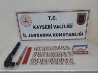 Kayseri'de 400 adet uyuşturucu hap ele geçirildi