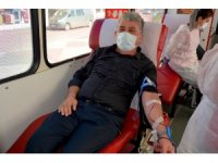 Gülüç Belediyesi kan bağışı kampanyası düzenledi